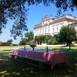 Garden Party au château