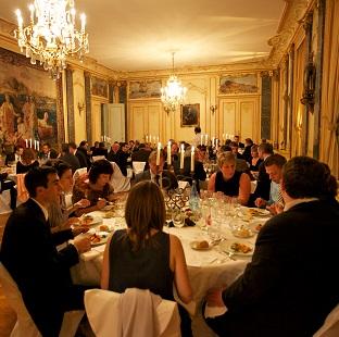 Soirée au château Bordeaux