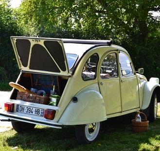2CV Rally in the Vineyards