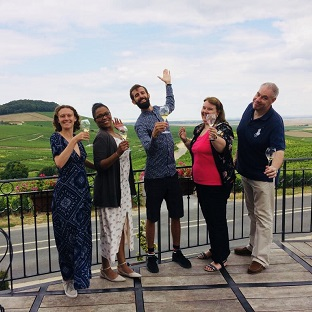 Tours and Tasting at a Champagne house