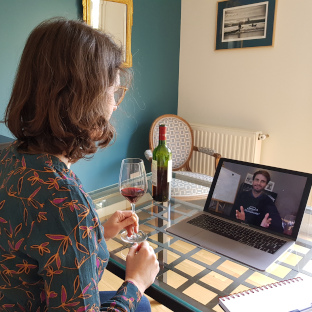 Private virtual visit of the Bordeaux wine region